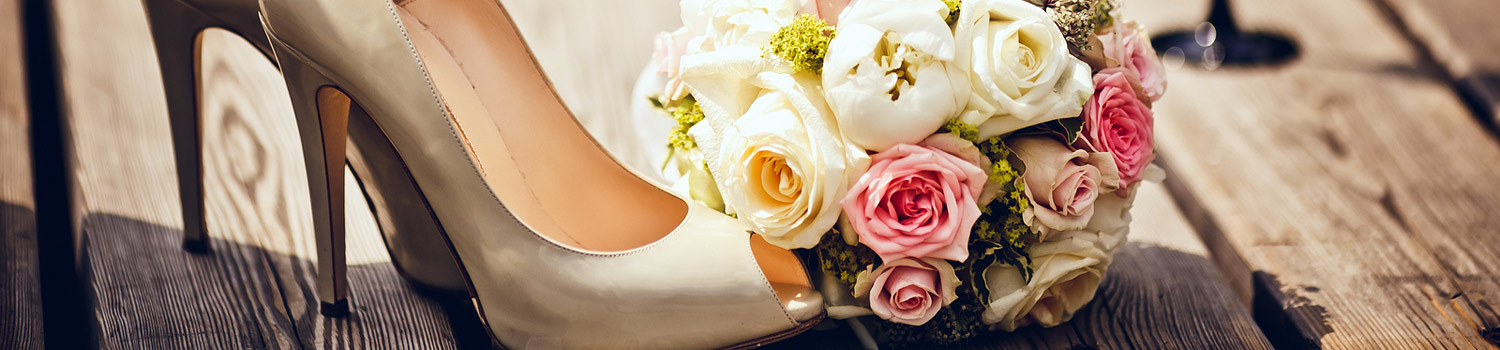 Heels and Bouquet on deck
